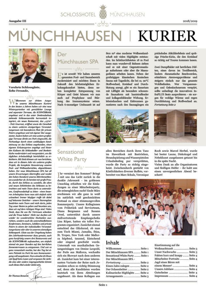 Münchhausen-Kurier-Ausgabe-III-Pageflip-Seite-1