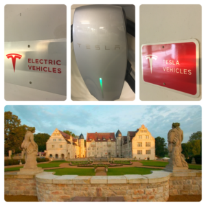 Tesla-im-Schlosshotel-Muenchhausen