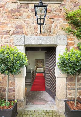 Kapelle Eingang