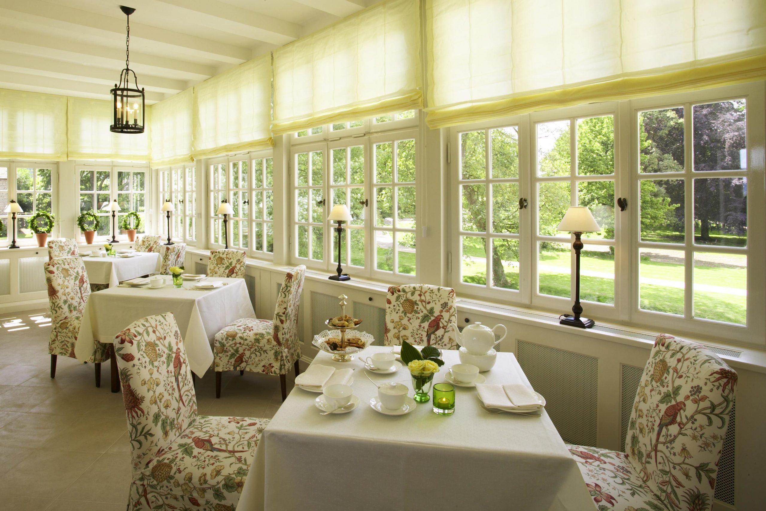 Belvedere-Frühstücksraum