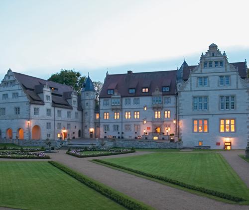 Schloss-Abendstimmung